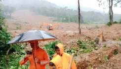 Landslide: Body search ops stalled temporarily at Thora