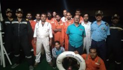 13 crew members rescued from dredger in NMPT limit