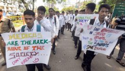 Assam docs on strike protesting colleague's murder