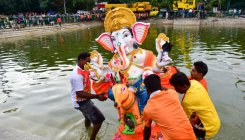BBMP sees sharp drop in PoP Ganesha idol immersions