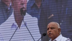 Centre will release funds: BSY to drought hit people