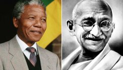 'Gandhi, Mandela used experiences to fight oppression'