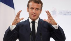 Macron apologises to Albania after playing wrong anthem