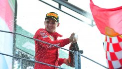 Leclerc withstands Mercedes pressure to win at Monza