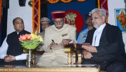 Bandaru Dattatreya sworn in as Himachal governor