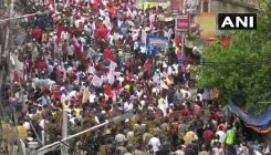 SFI, DYFI rally for employment in West Bengal
