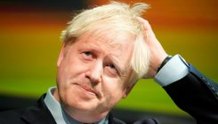 Why are you not in Parliament? Heckler to Boris Johnson