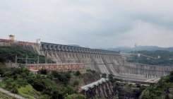 Sardar Sarovar Dam water level almost at overflow mark