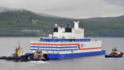 Russia's floating nuclear plant arrives in port
