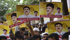 Don't come to Delhi, DK Shivakumar tells supporters