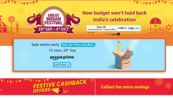 Amazon to host Great Indian Festival sale on this date