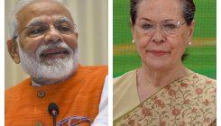 Cong president Sonia Gandhi greets PM Modi on birthday
