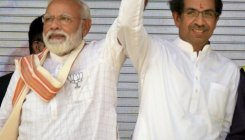 Shiv Sena takes a jibe at BJP over seat sharing