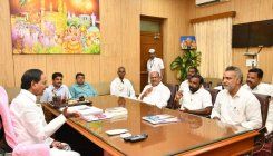 Elected representatives from border districts meet KCR