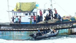 23 fishermen rescued by Indian coast guards