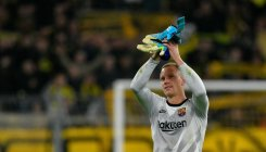 Barca keeper Ter Stegen claims to be Germany's No. 1