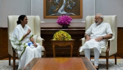 Mamata Banerjee meets PM Modi even as BJP mocks her