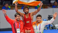 Bajrang loses semis after qualifying for Tokyo Olympics