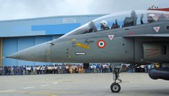 Lockheed congratulates successful Tejas arrest landing
