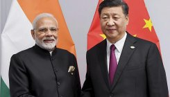 Modi-Xi meet: A stroll and visit to monuments