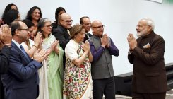 Houston: PM meets Kashmiri Pandits, assures New Kashmir