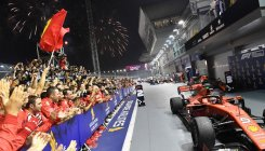 Singapore Grand Prix: Who stands where