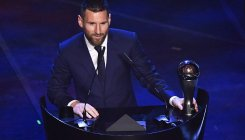 Lionel Messi wins FIFA player of the year award