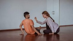 Exploring intimacy through dance and movement
