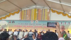 Mysuru Dasara innaugrated, BSY offers 'Pushparchane'