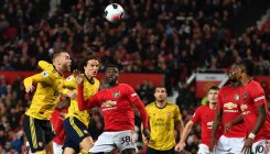Misfiring Manchester United draws 1-1 against Arsenal