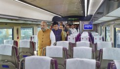 Revolving seats and many traits in Vande Bharat Express