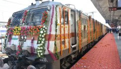 UP CM flags off IRCTC's Delhi-Lucknow Tejas Express