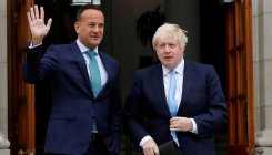 British, Irish PMs to lock horns over Brexit stalemate