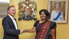 Bengaluru student city's top British diplomat for a day