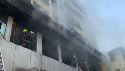 Major fire in Mumbai building, 1 dead, 6 injured