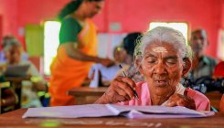 Five octogenarians appear for literacy exam in Kerala
