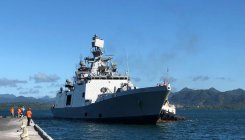 INS Sahyadri, INS Kiltan to help typhoon-hit Japan