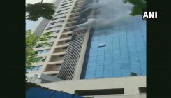 Mumbai: Fire breaks out at a building in Andheri