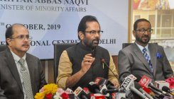 India is heaven for minorities while Pak is hell: Naqvi