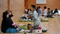 Japan PM says disaster shelters should welcome all