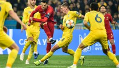 Ukraine qualify for Euro 2020 despite Ronaldo's goal