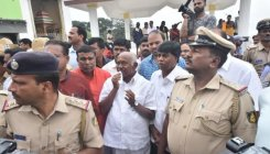 High political drama unfolds atop Chamundi Hill