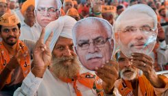 Opinion poll predicts BJP win in Haryana, Maharashtra
