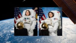US astronauts embark on first all-female spacewalk