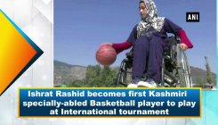 1st specially-abled Kashmiri baskeball player
