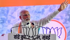 Cong destroyed nation with its wrong policies: PM Modi
