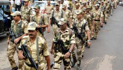 Maharashtra under heavy security cover ahead of polls