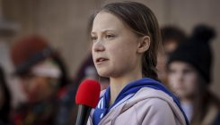 Thunberg's climate protest against Canada's oil patch
