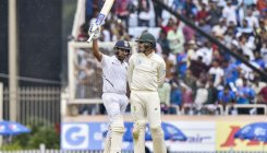 Rohit powers India to 224/3 before early end on Day 1