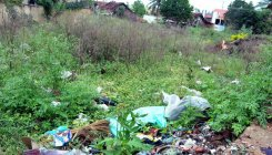 Vacant plots turn dumping ground